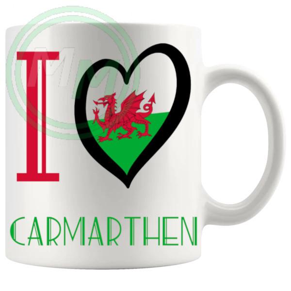 I Love Carmarthen Mug