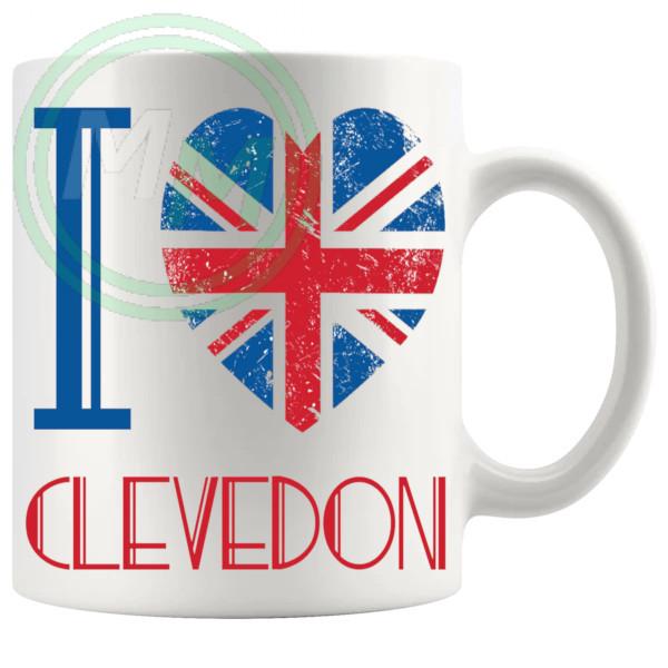 I Love Clevedon Mug