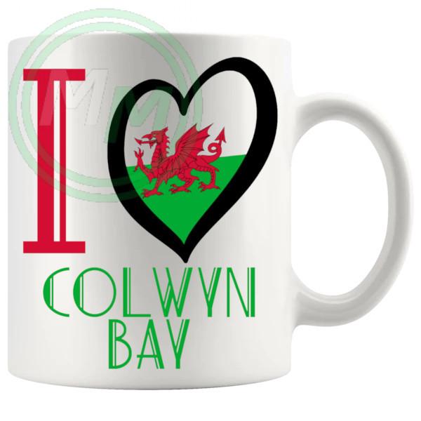 I Love Colwyn Bay Mug