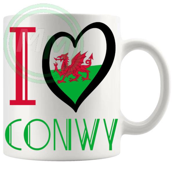 I Love Conwy Mug