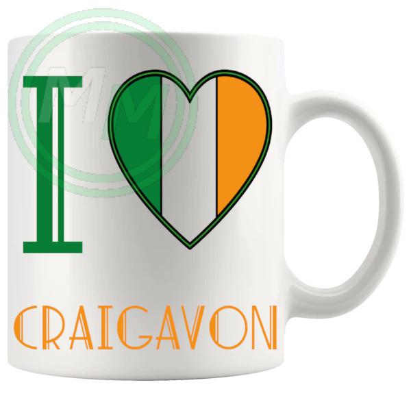 I Love Craigavon Mug