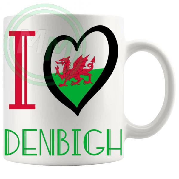 I Love Denbigh Mug