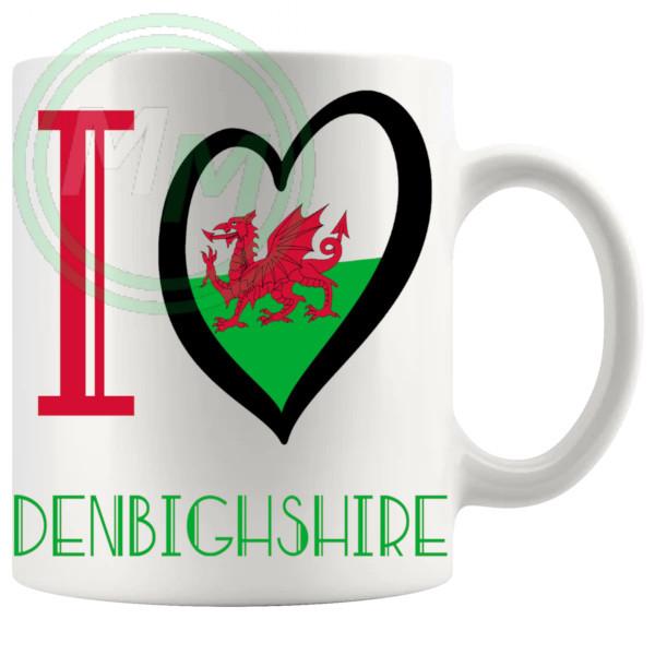 I Love Denbighshire Mug