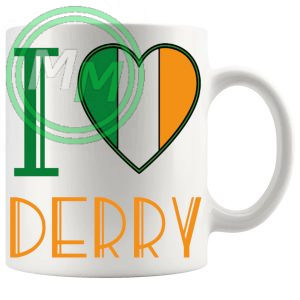 I Love Derry Mug
