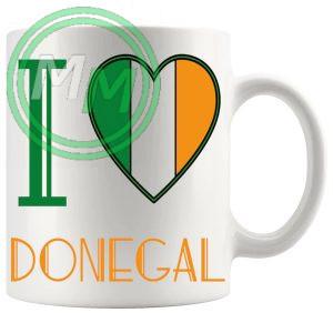 I Love Donegal Mug