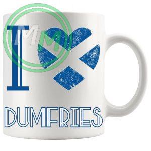 I Love Dumfries Mug