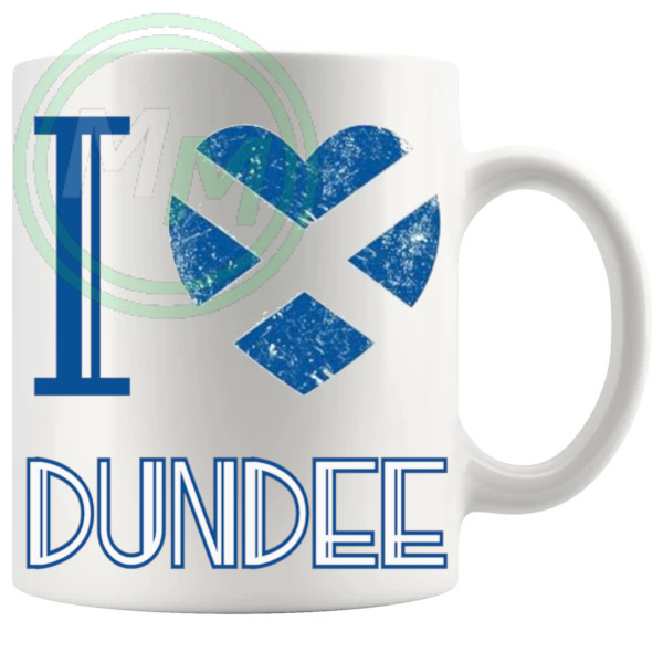I Love Dundee Mug