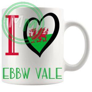 I Love Ebbw Vale Mug