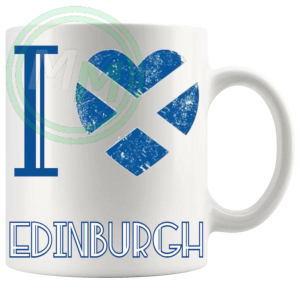 I Love Edinburgh Mug