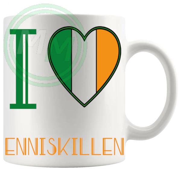 I Love Enniskillen Mug