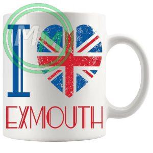 I Love Exmouth Mug