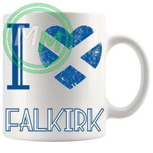 I Love Falkirk Mug