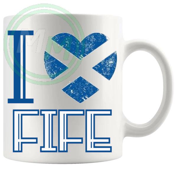 I Love Fife Mug