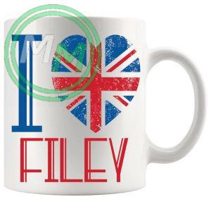 I Love Filey Mug