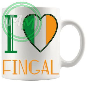 I Love Fingal Mug