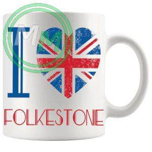 I Love Folkestone Mug