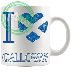I Love Galloway Mug