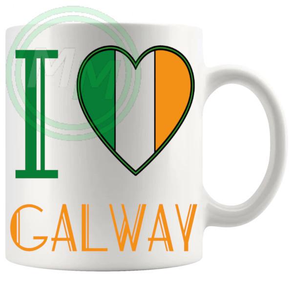 I Love Galway Mug