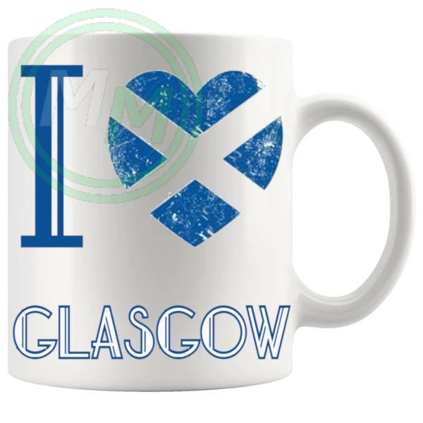 I Love Glasgow Mug