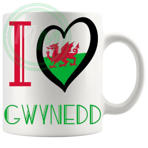 I Love Gwynedd Mug