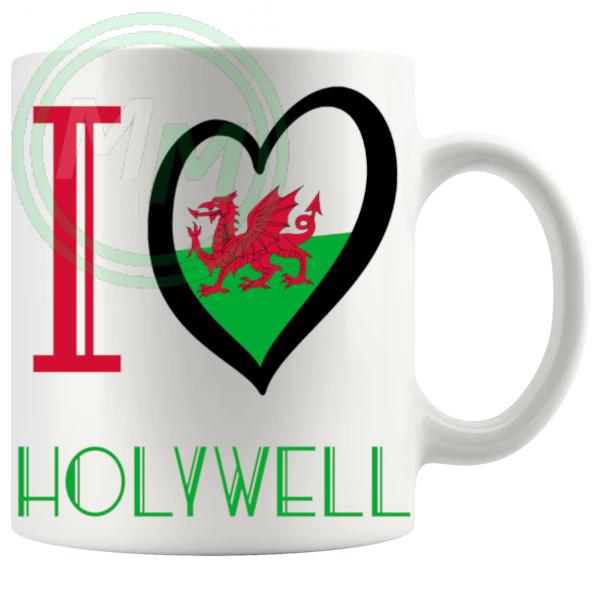I Love Holywell Mug