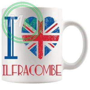 I Love Ilfracombe Mug