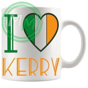 I Love Kerry Mug
