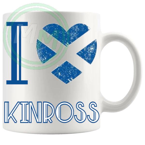I Love Kinross Mug