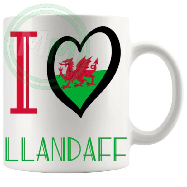 I Love Llandaff Mug