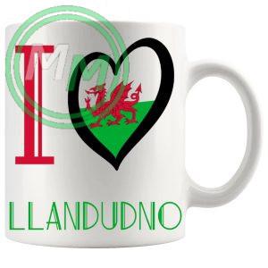 I Love Llandudno Mug
