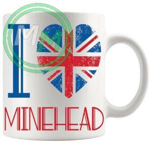 I Love Minehead Mug
