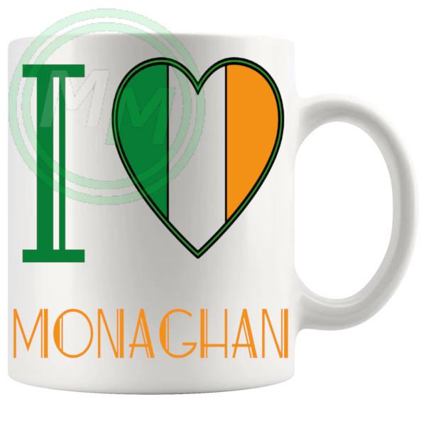 I Love Monaghan Mug
