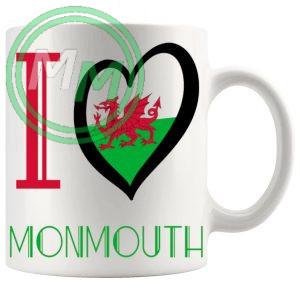 I Love Monmouth Mug