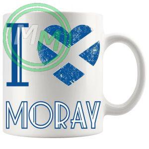 I Love Moray Mug