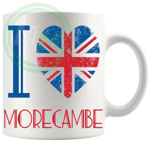 I Love Morecombe Mug