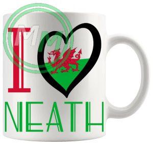 I Love Neath Mug
