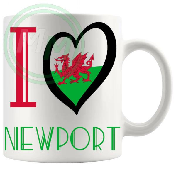 I Love Newport Mug