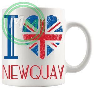 I Love Newquay Mug