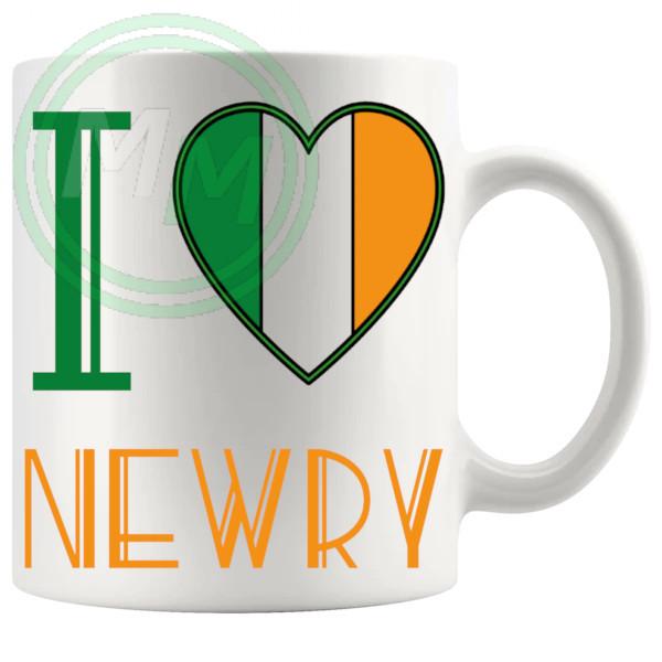 I Love Newry Mug