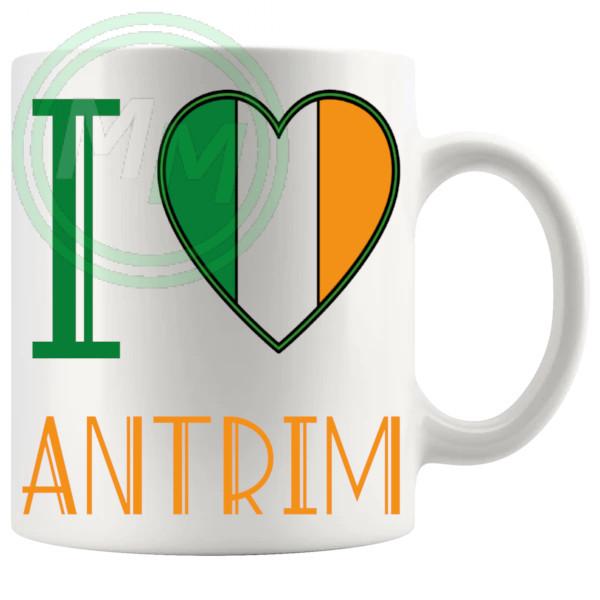 I Love Antrim Mug