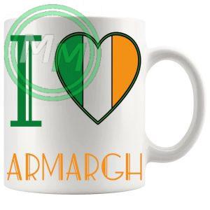 I Love Armargh Mug