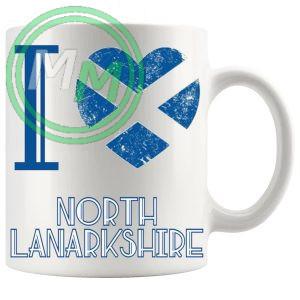 I Love North Lanarkshire Mug