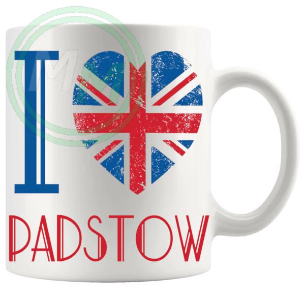 I Love Padstow Mug