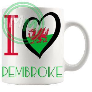I Love Pembroke Mug
