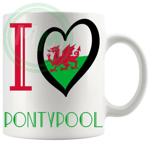 I Love Pontypool Mug