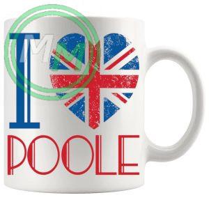 I Love Poole Mug