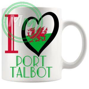 I Love Port Talbot Mug