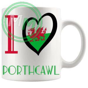 I Love Porthcawl Mug