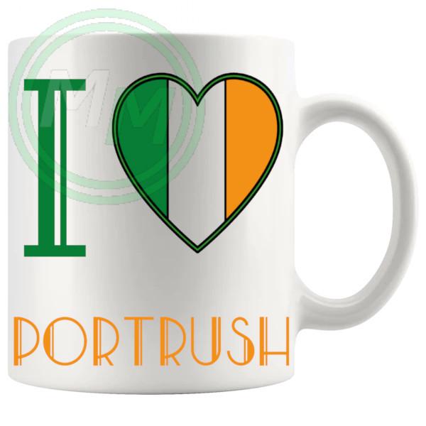 I Love Portrush Mug