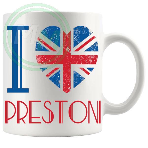 I Love Preston Mug